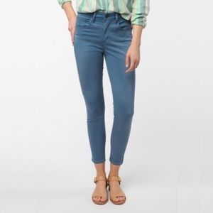 Levi's iconic high rise jeans
